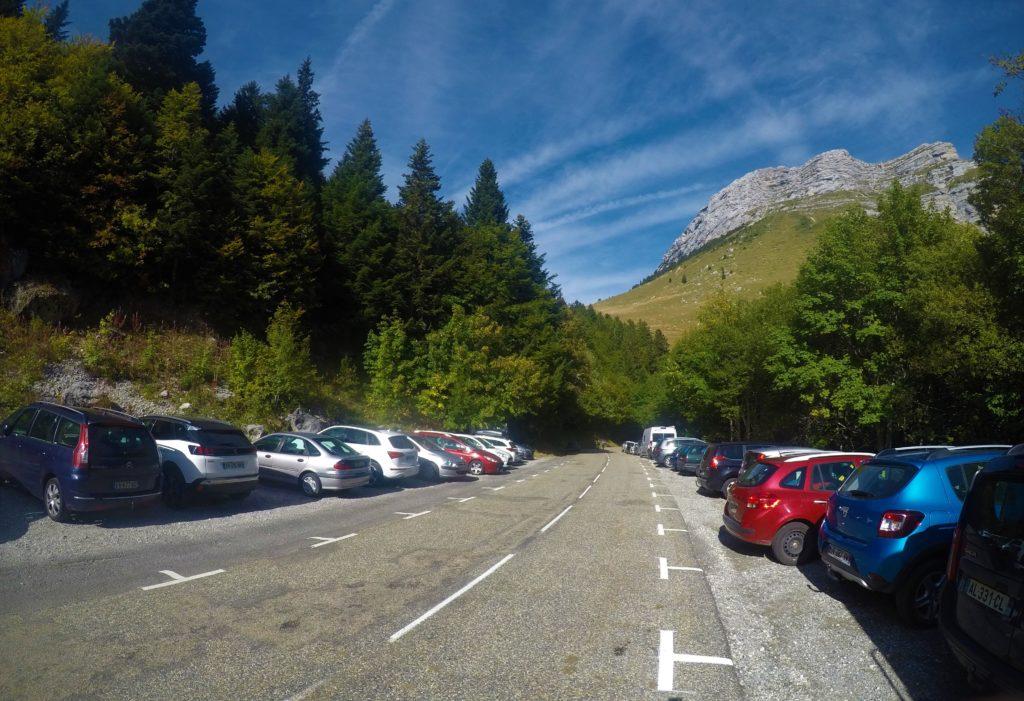 Parking Col du coq