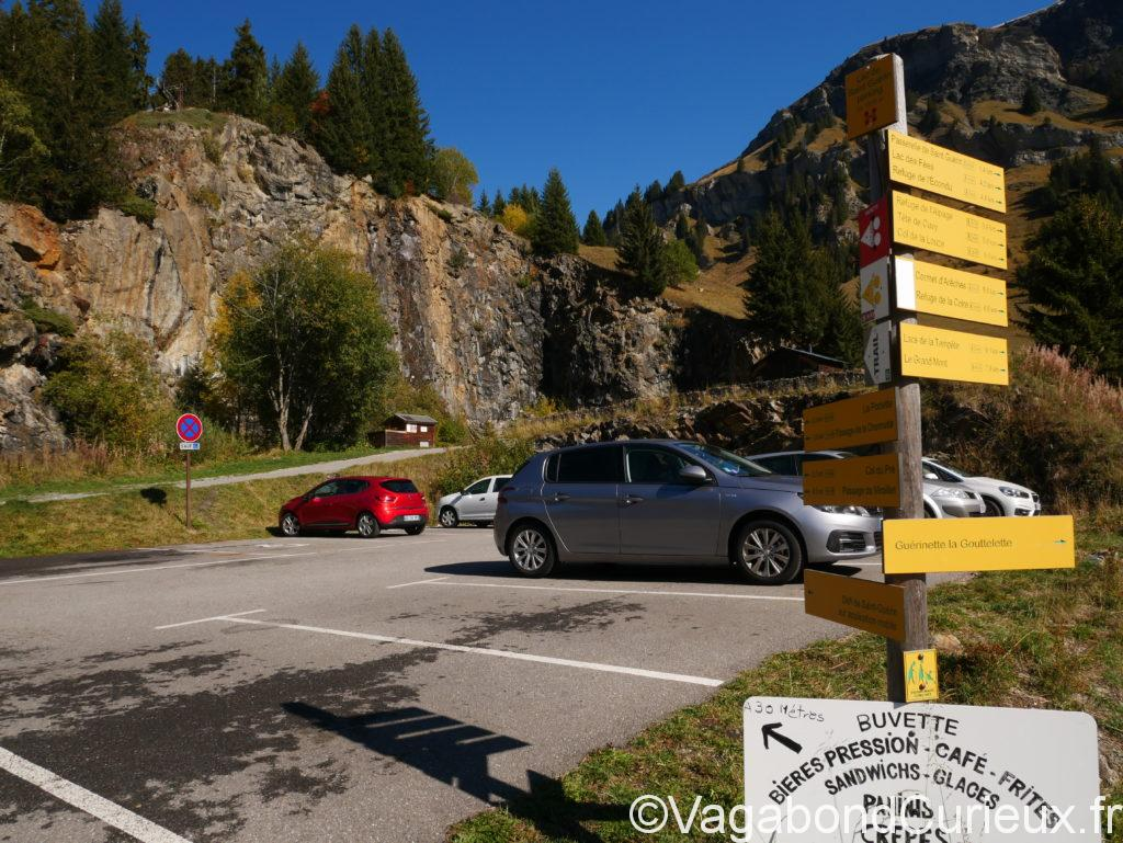 Parking Lac Saint Guérin
