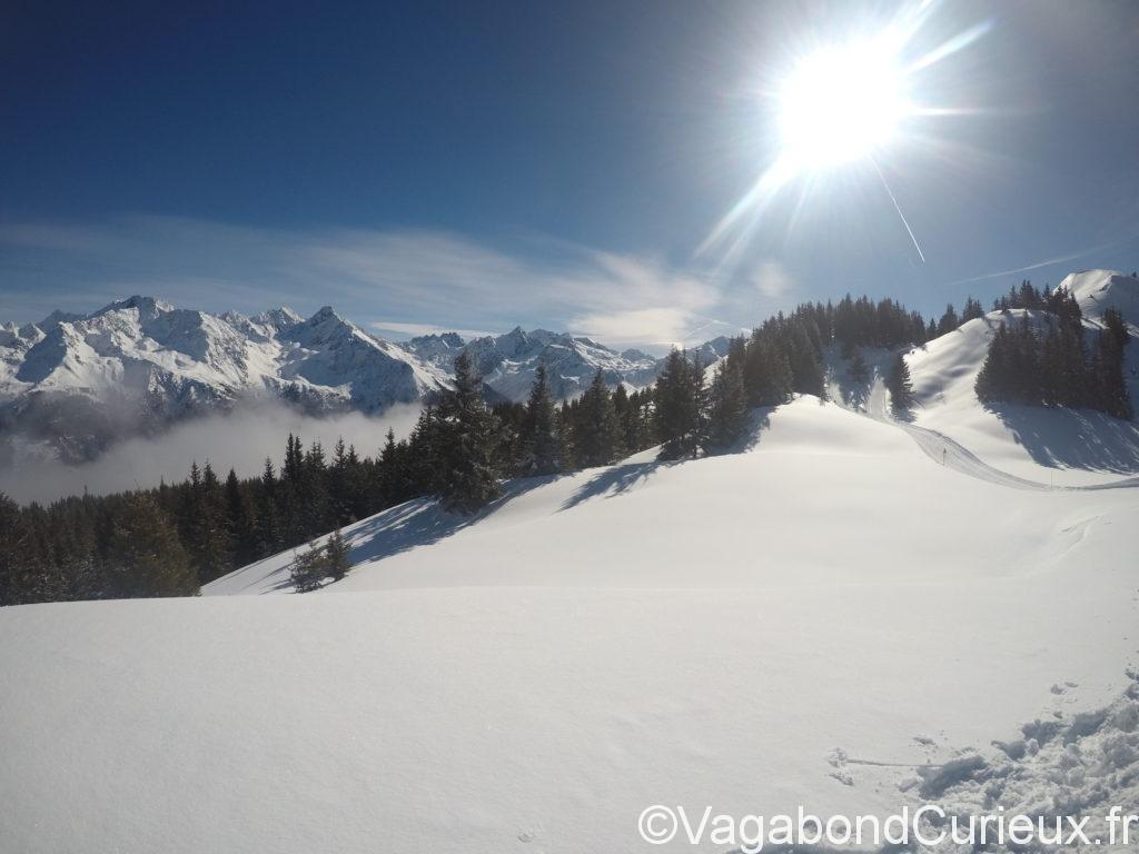 Plateau de ski e fond Grand rocher